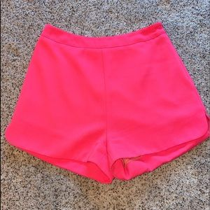 Hot Pink High Rose Shorts